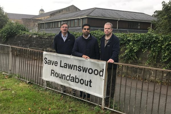 save lawnswood roundabout